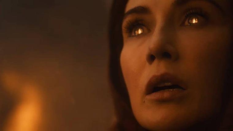 Мелисандра поджигает рвы