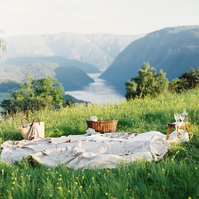 Место для пикника-пейзажи