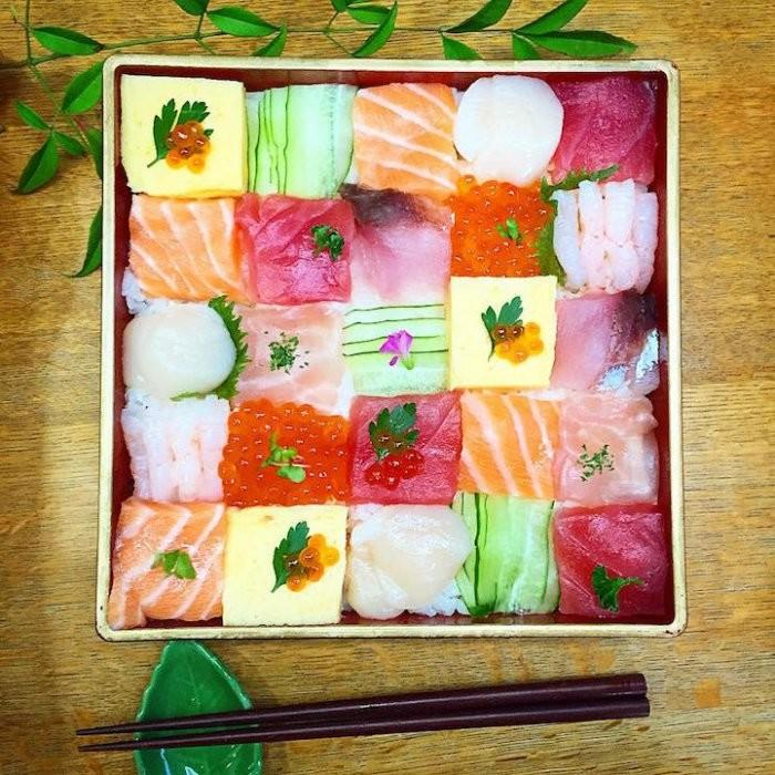 Мозаичные-суши-сеты креатив