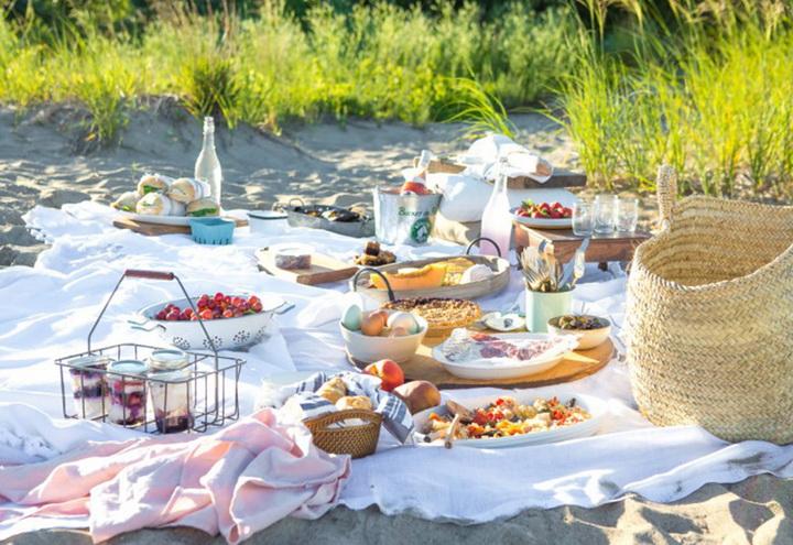 Пикник-на пляже