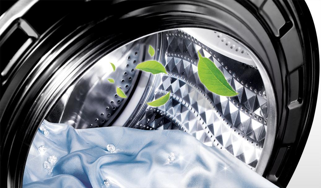Разбираемся в классах энергопотребления стиральных машин - белье в барабане