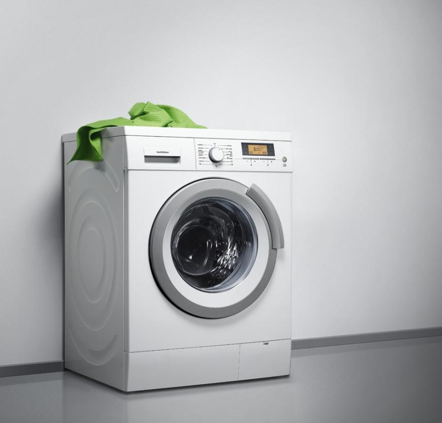 Разбираемся в классах энергопотребления стиральных машин - стиральная машина с полотенцем