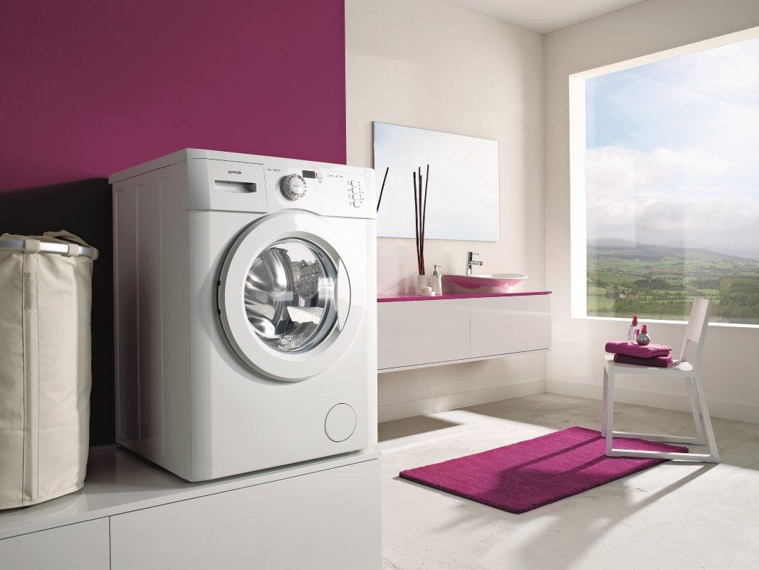 Разбираемся в классах энергопотребления стиральных машин - стиральная машина в интерьере