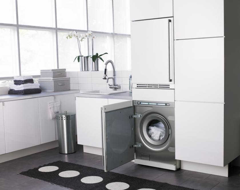 Разбираемся в классах энергопотребления стиральных машин - встраиваемая стиральная машина