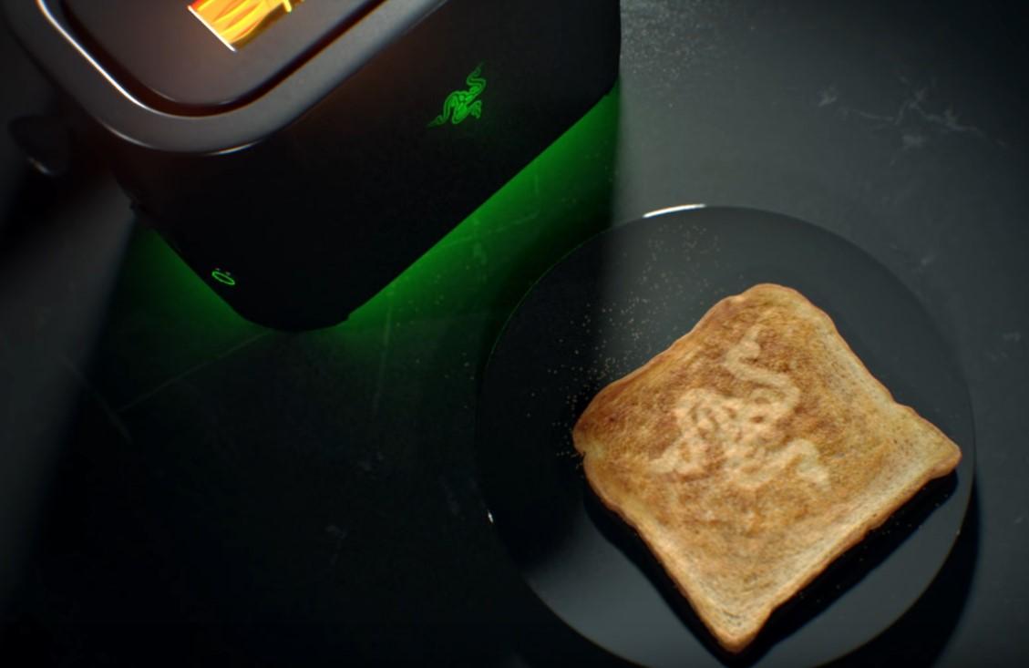 Шуточный рекламный ролик о тостере от Razer 2