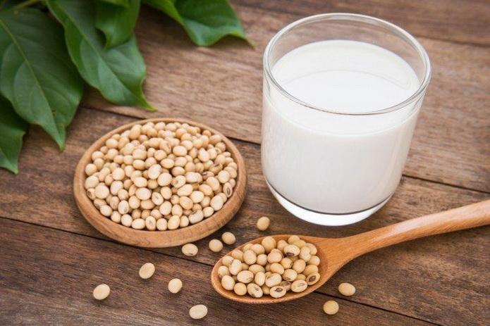 Соевое молоко-польза