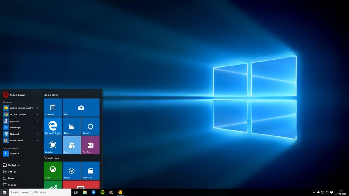 Сравнительная таблица отличий Windows 10 от Windows 7 4
