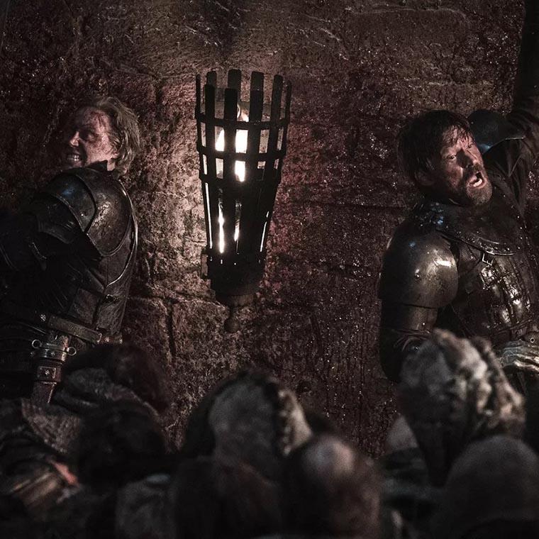 Сражение в замке