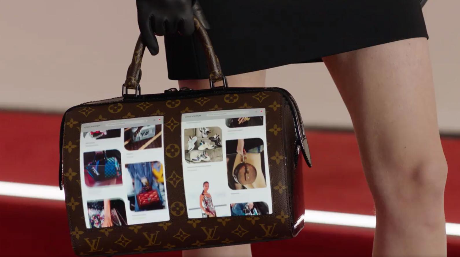 Сумки Louis Vuitton будут со встроенным экраном 5