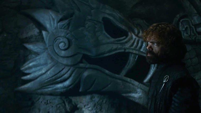 Тирион входит в пасть дракона