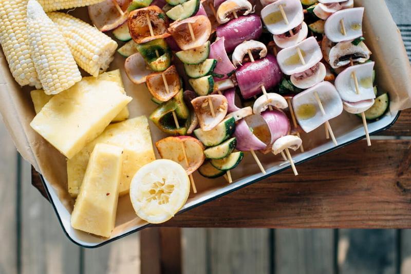 Вегетарианский шашлык-вкусные эксперименты