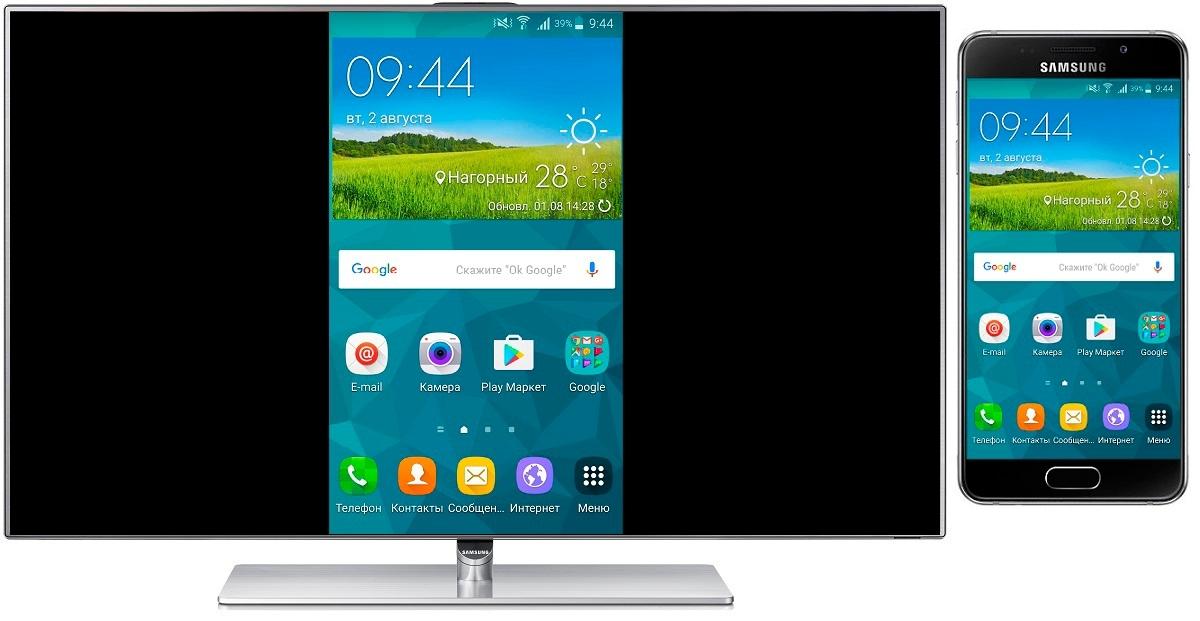Вертикальный телевизор от Samsung 2
