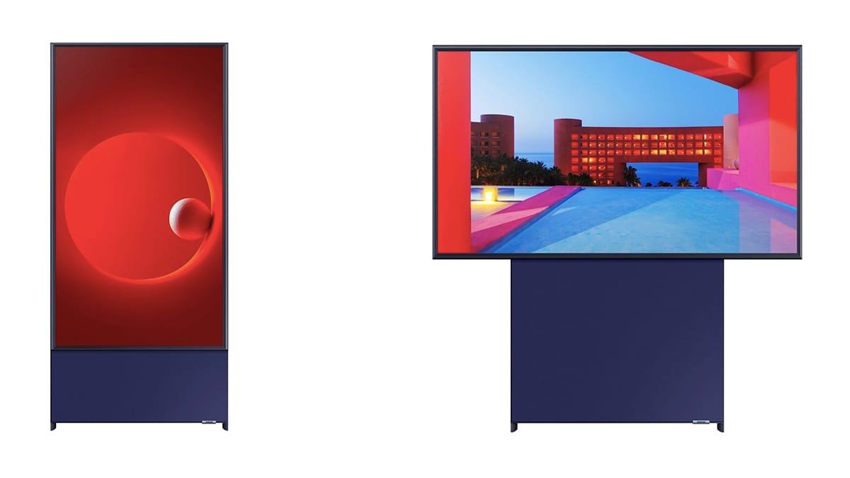 Вертикальный телевизор от Samsung 3