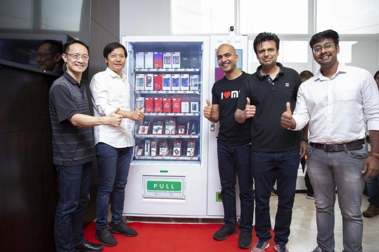 Xiaomi будет продавать смартфоны через автоматы1