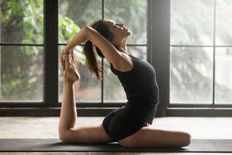 Йога-на рассвете
