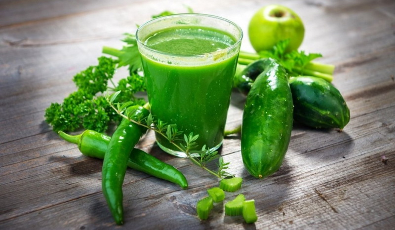 Зеленые смузи-вкусный детокс для лета-2019