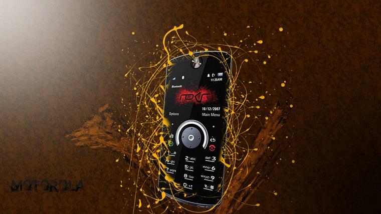 кнопочные телефоны Motorola Rokr 3