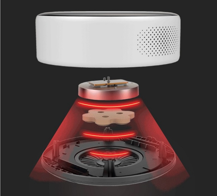 умный массажер от Xiaomi с имитацией горячего камня 4