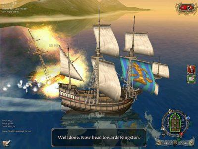 Игра про пиратов Tortuga: Two Treasures