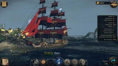 Игра про пиратов Tempest