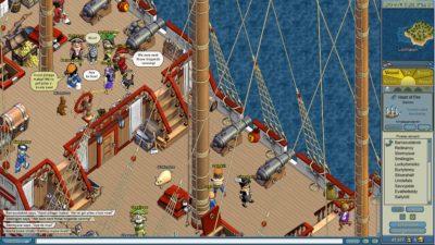 Гра про піратів MMORPG Puzzle Pirates