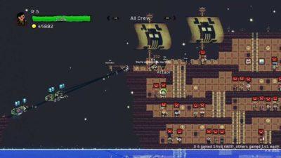Игра про пиратов Pixel Piracy