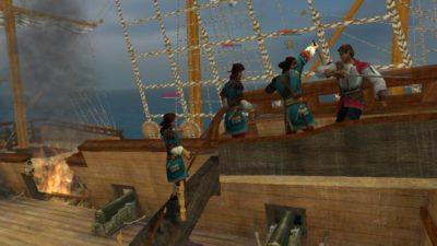 Игра про пиратов Корсары: возвращение легенды