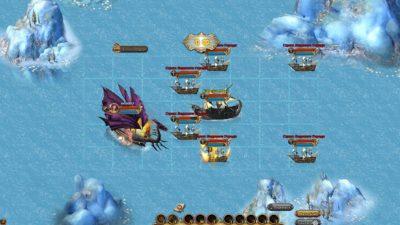 Гра про піратів Морський бій
