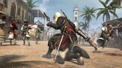 Игра про пиратов Assassin's Creed 4: Black Flag