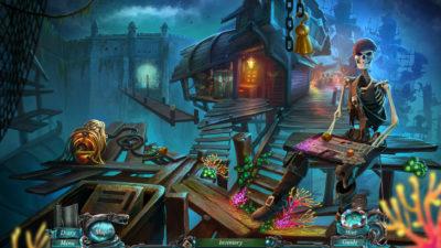 Игра про пиратов поиск предметов Nightmares from the Deep 1,2,3