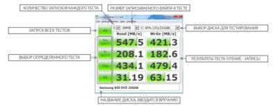 Програма для діагностики HDD Crystal Disk Mark