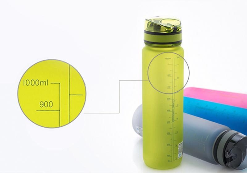 Бутылки для воды Uzspace_настоящая забота о природе - бутылка с мерной шкалой