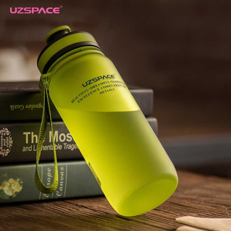 Бутылки для воды Uzspace_настоящая забота о природе - бутылка возле книг