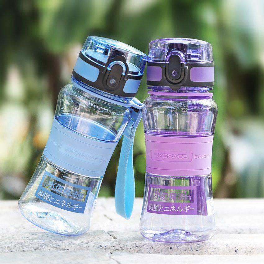 Бутылки для воды Uzspace_настоящая забота о природе - две маленькие бутылки