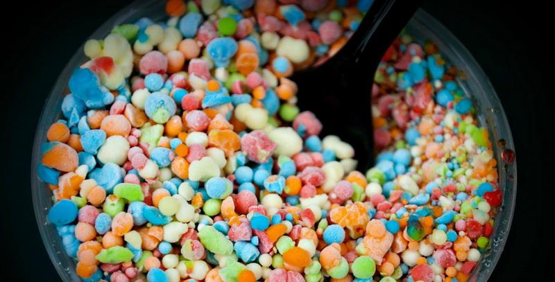 Dippin' Dots-гранулированное мороженое