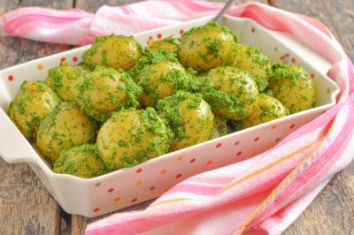 Приготовить молодую картошку -2