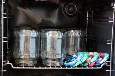 Стерилизация банок в духовке - 2