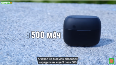 Время работы Anker SoundСore Liberty Air