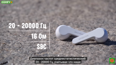 Звук наушников Anker SoundСore Liberty Air