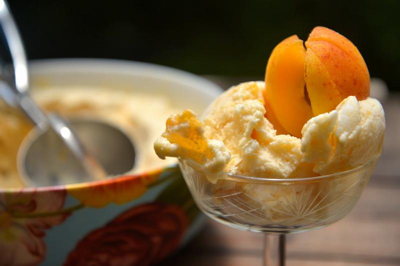 Крафтовое мороженое-абрикосовое