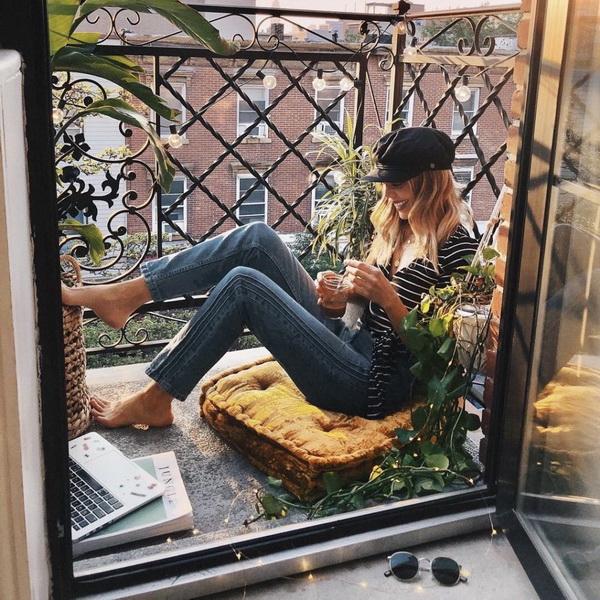 Лето-зеленый балкон