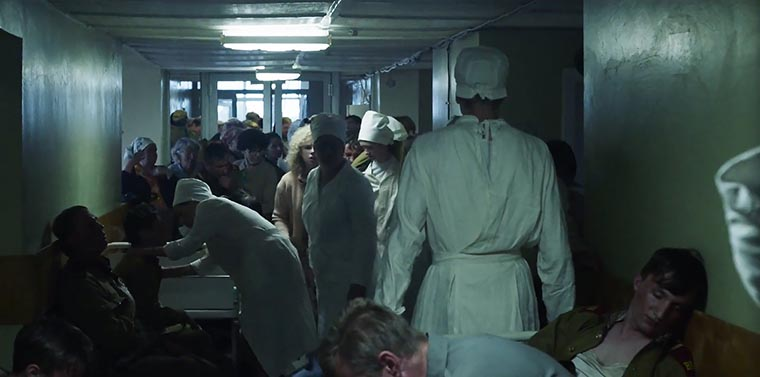 Людмила в больнице