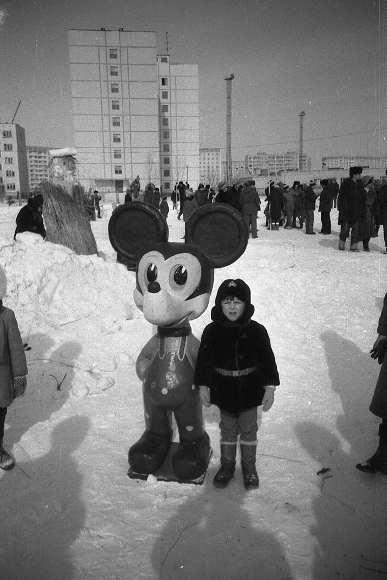 Микки-маус в Припяти