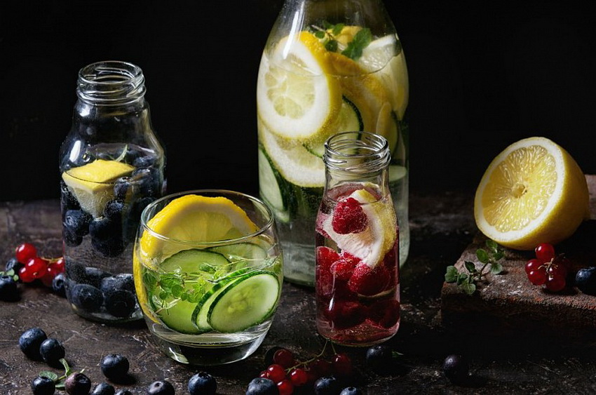 Напитки-вкусный детокс