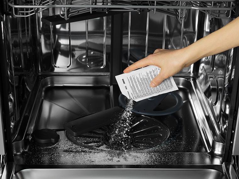 Очистка посудомоечной машины