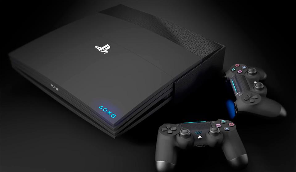 PlayStation 5_всё что известно о новой консоли - консоль с джойстиками