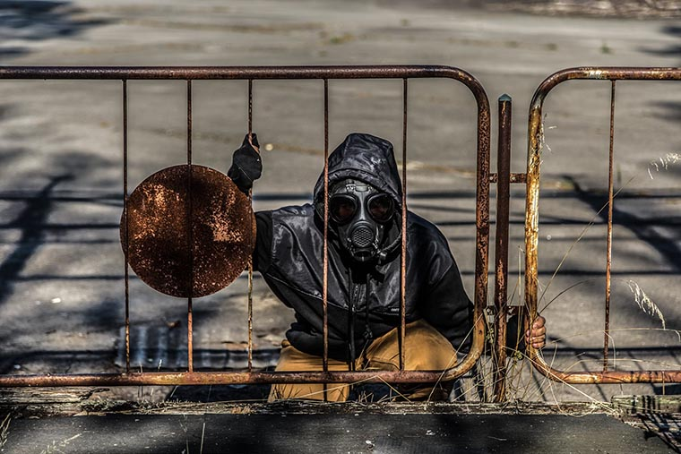 Сталкеры в Чернобыле