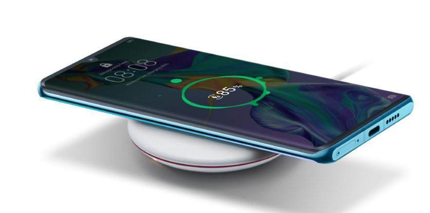 Топ-7 смартфонов с технологией беспроводной зарядки - Huawei p30 pro