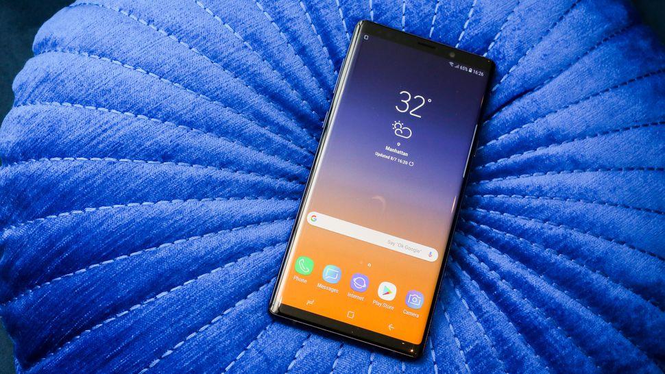 Топ-7 смартфонов с технологией беспроводной зарядки - samsung galaxy note 9