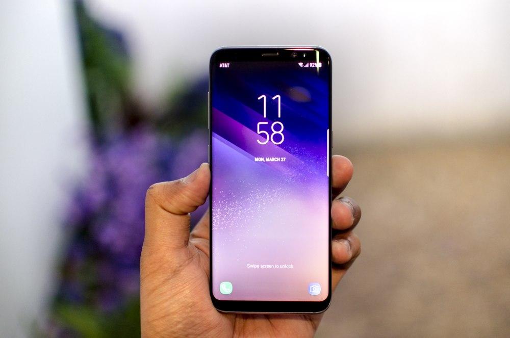 Топ-7 смартфонов с технологией беспроводной зарядки - samsung galaxy s8
